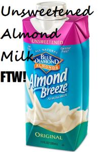 Almond Milk Text-pic