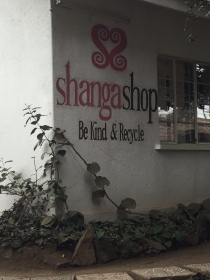 Shanga shop where the handmade products are sold