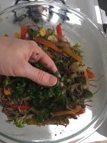 Add the cilantro