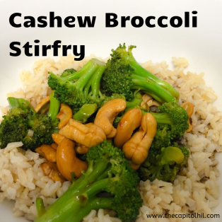 Cashew Broccoli Stirfry
