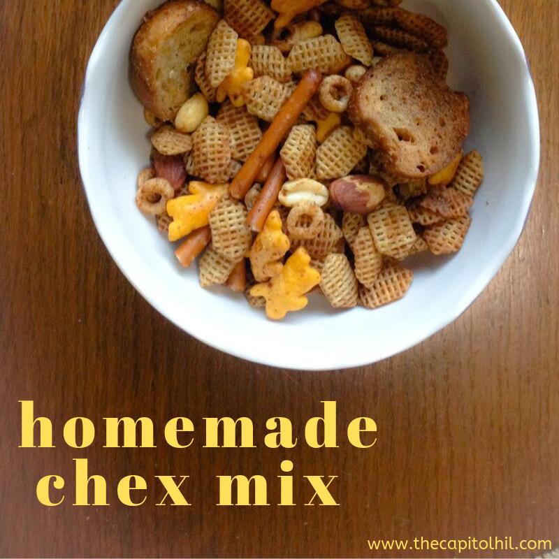 homemade chex mix